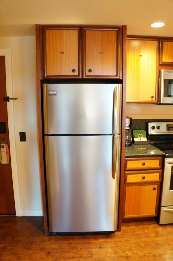 アウラニの大型冷蔵庫