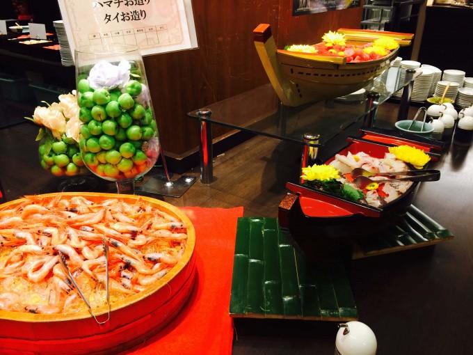 大江戸温泉 ディナー