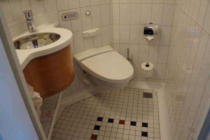ディズニークルーズ トイレ